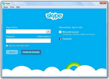 Πως κάνω λογαριασμό Skype