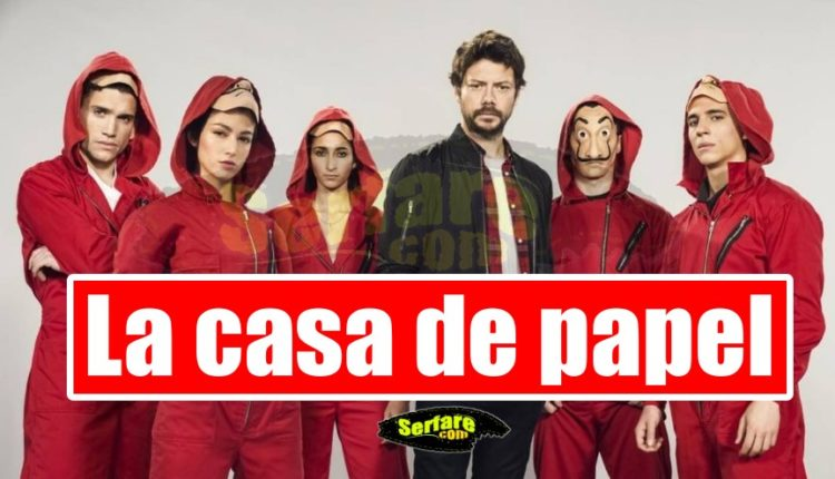 La casa de papel Season 1 - Επεισόδιο 1, 2, 3, 4, 5, 6, 7, 8